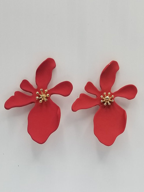 Red Flower Bloom