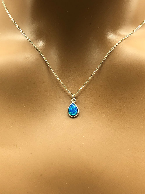 Lab Opal Necklace