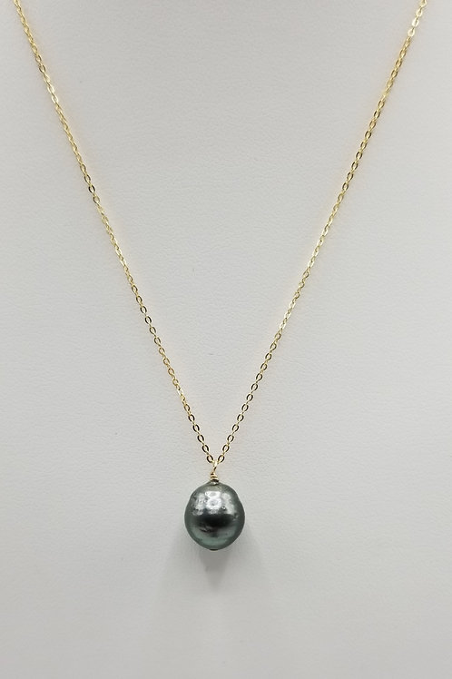 10mm Baroque Tahitian Pearl Necklace