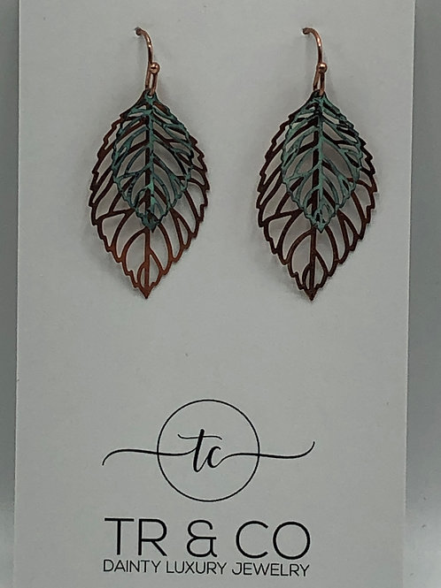 Multi Leaf Earring