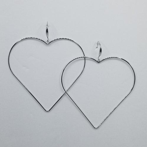 Large Heart Hoop