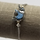 Thumbnail: Silver Adjustable CZ Bracelet