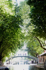 St Martine Canal, Paris