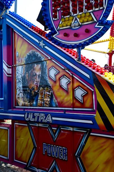 Michael Jackson ride fun fair
