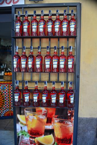 Aperol store, Palermo