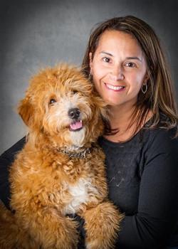 Tux with Karen Lehn