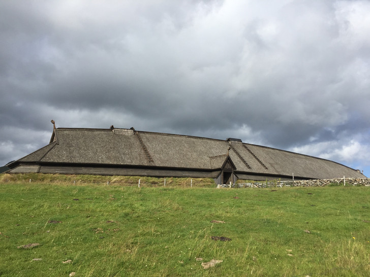Lofotr Museum, île Lofoten, Norvège