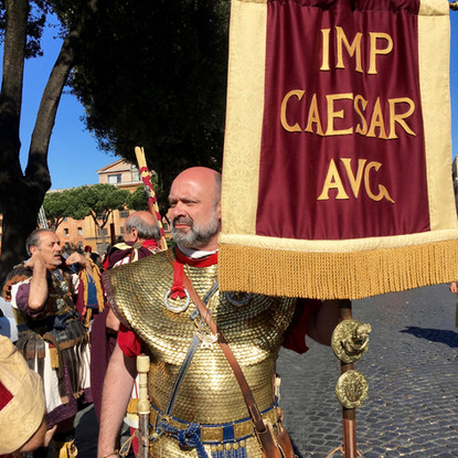 La fondation de Rome - au Circus maximus (le grand cirque de Rome)