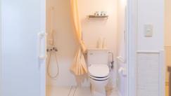 個室のバスルーム・トイレ
