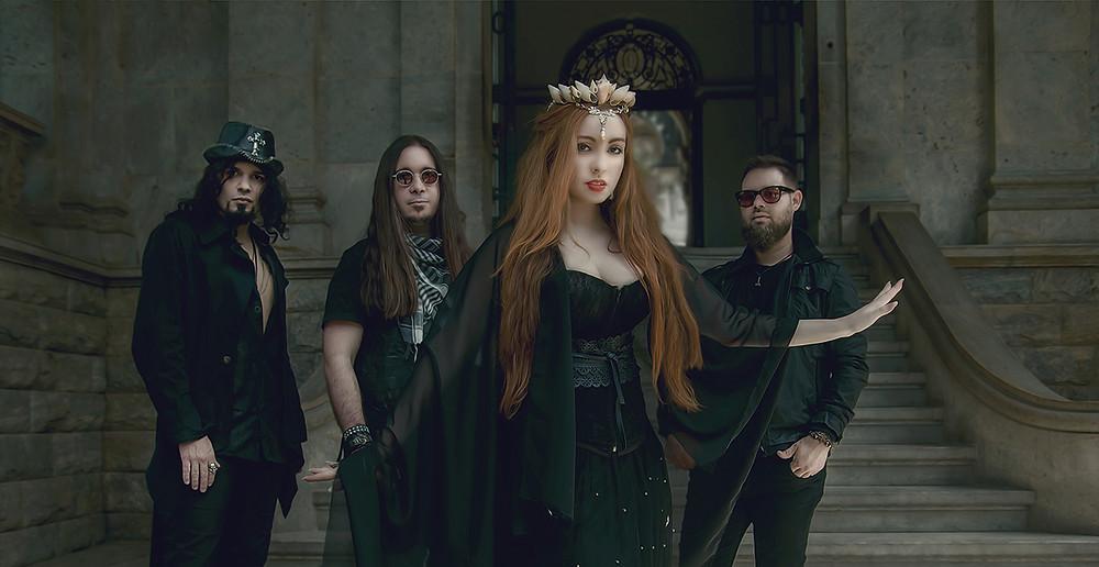 Photo of the symphonic metal band Lyria members