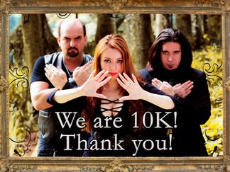 Let's celebrate together! 10000 on Facebook!