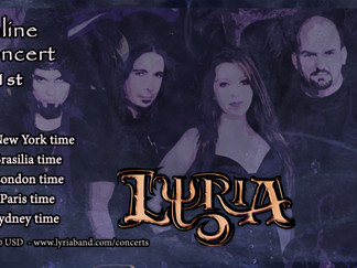 Lyria - Online Concert, Oct 1st