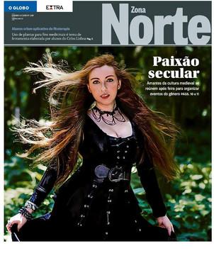 Lyria on O Globo & Extra
