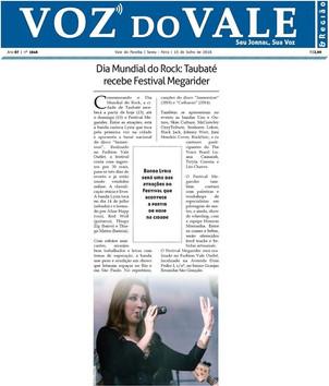 Lyria on Voz do Vale Newspaper