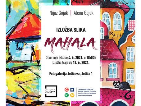 """Exhibition """"Mahala"""" by Alena Gojak and Nijaz Gojak"""