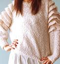 ホワイトセータークローズアップ