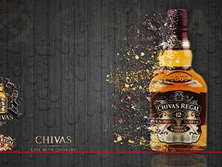 Grafika reklamowa Chivas Regal