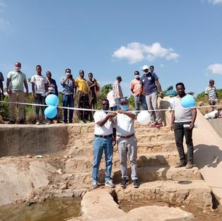 Inauguration of Small Scale Irrigation (SSI) in Bishan Behe kebele