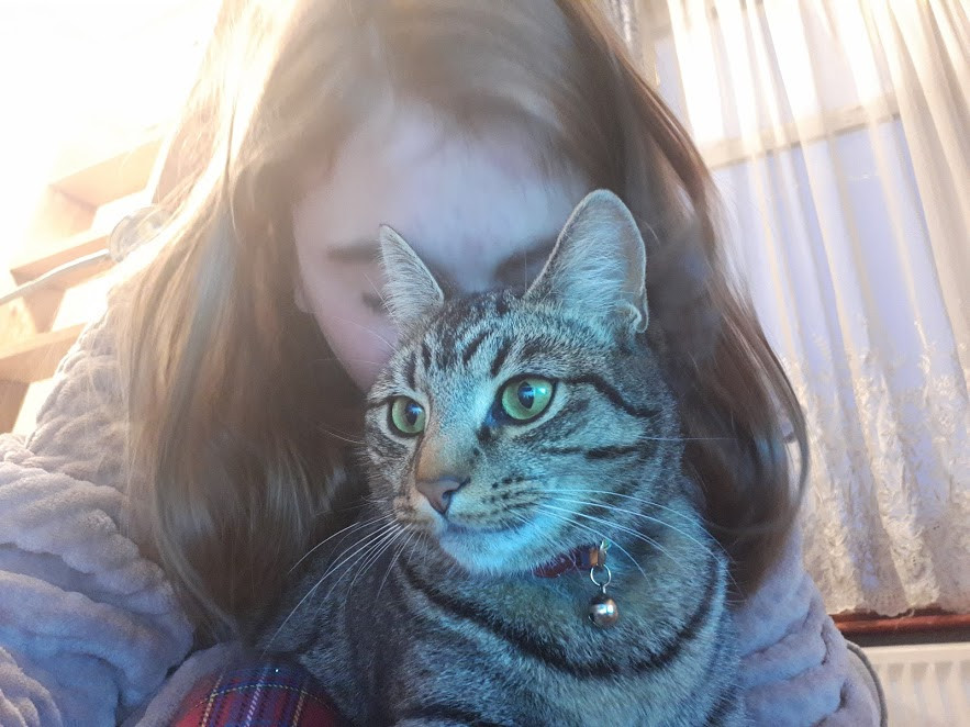 me and my beautiful kitty