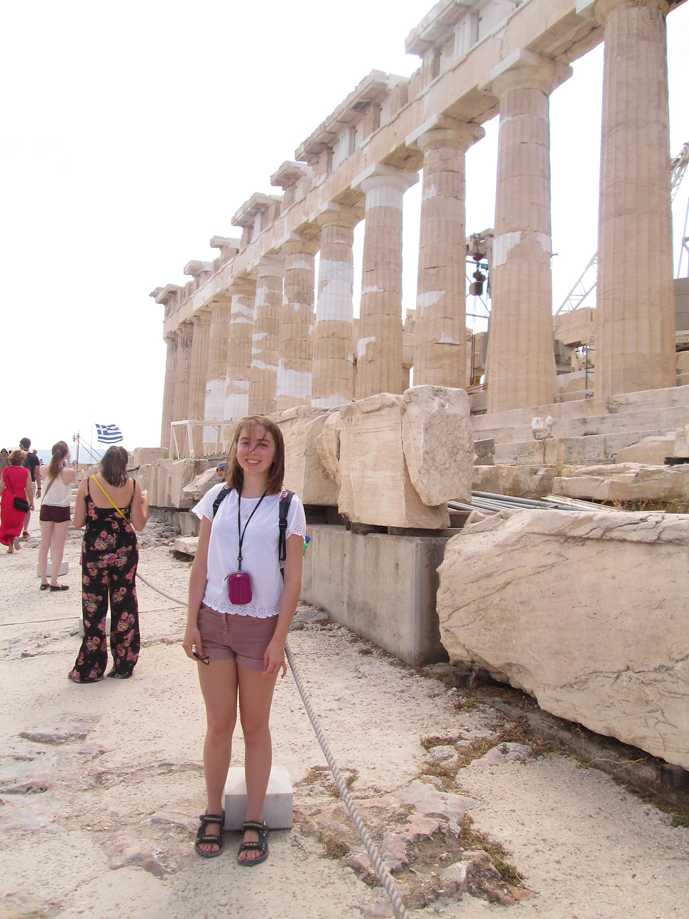 Me in front of the Parthenon, Athens, a few years ago