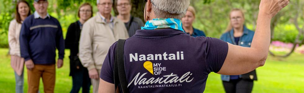 Visit Naantali - Kultarannan puutarha - Kordelin
