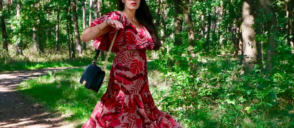 FASHION STYLE : DRESSES WITH EXOTIC PRINT LOOK