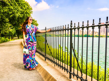 FASHION TRAVEL :  MAXI DRESS #NEWYORKCITY