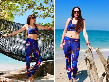LOOK : TRAVEL FASHION : YOGA DAY