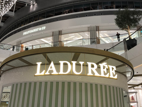 Modern and Beautiful - The Magic of Ladurèe Dubai Mall Café s tips