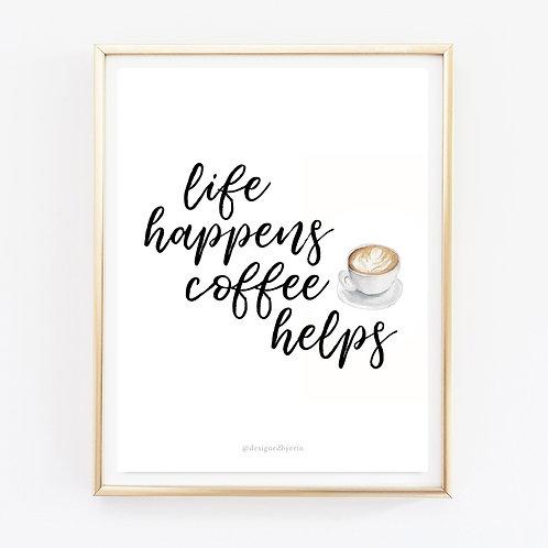 Coffee Helps Print