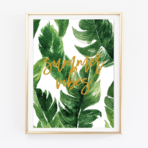 Summer Vibes Print