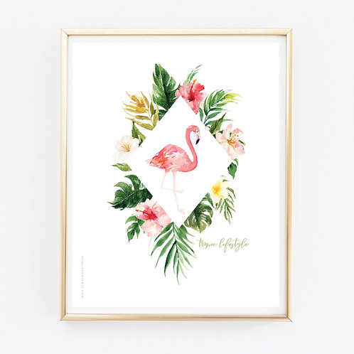 Tropical Lifestyle Print