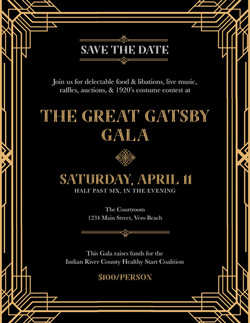 Great Gatsby Invitation