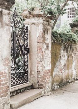 Charming Gate In Charleston