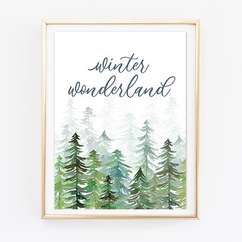Winter Wonderland Print