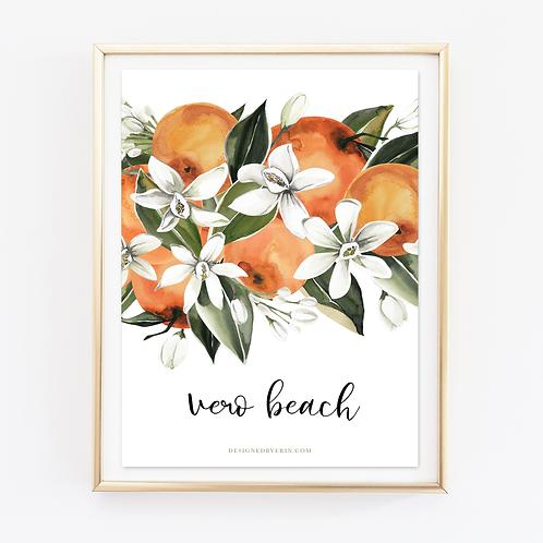 Vero Beach Citrus Print