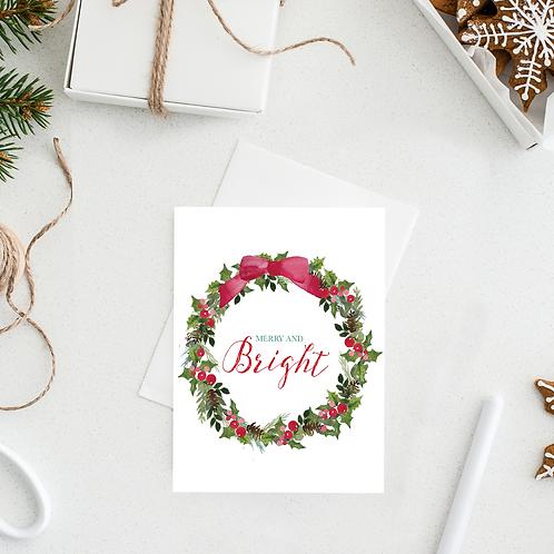 Merry & Bright Notecard