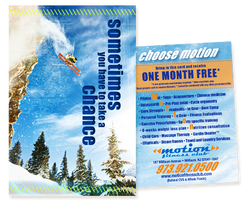 Motion Fitness Club Direct Mail