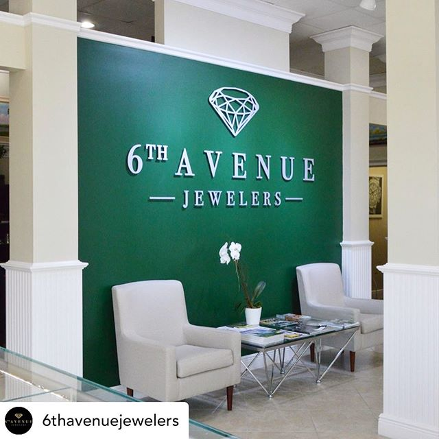 Posted @withrepost • @6thavenuejewelers