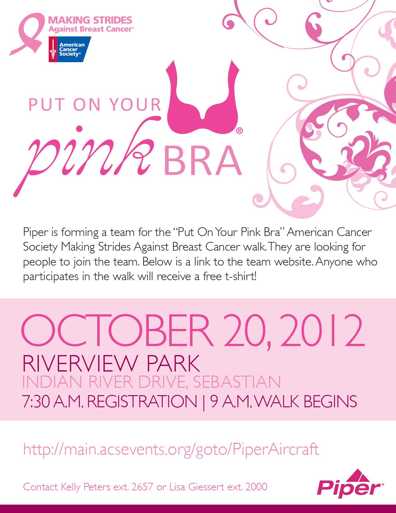 Piper Cancer Society Flyer
