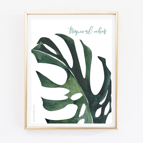 Tropical Vibes 2 Print