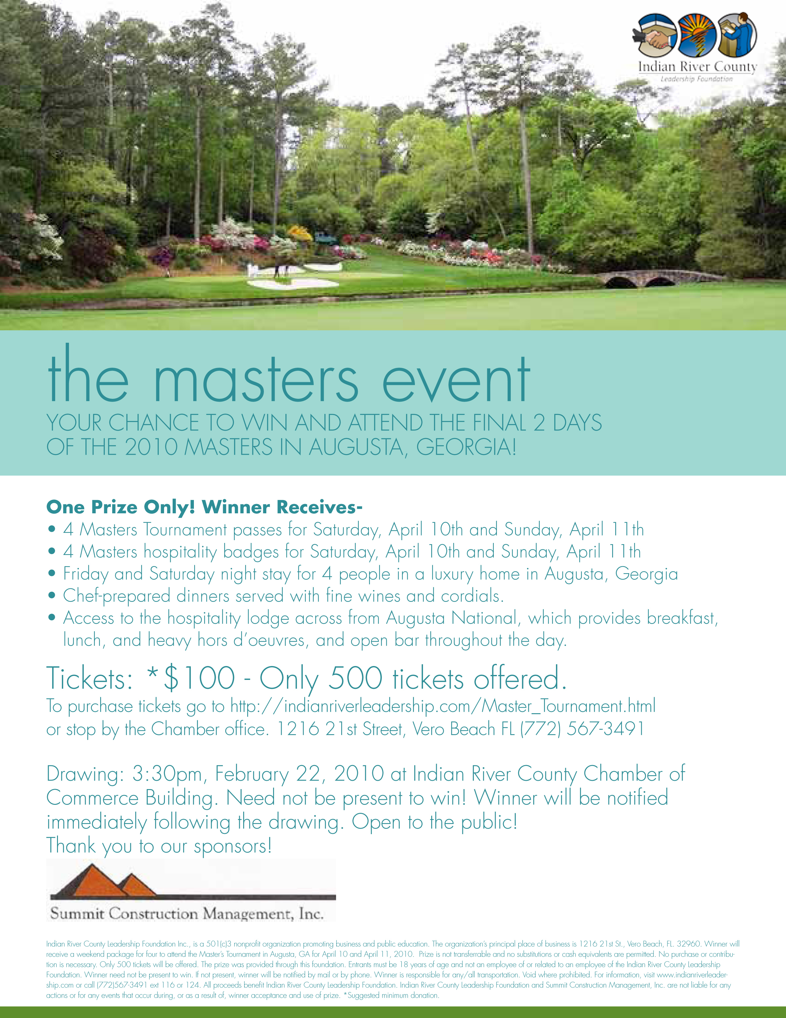 Indian Rive COC Masters Event