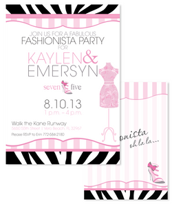 Fashion Invitation