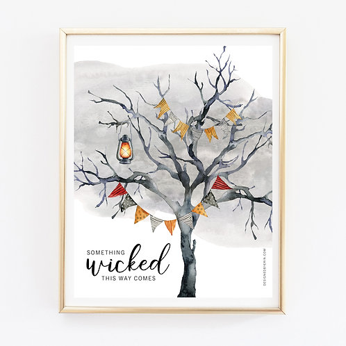 Something Wicked Print