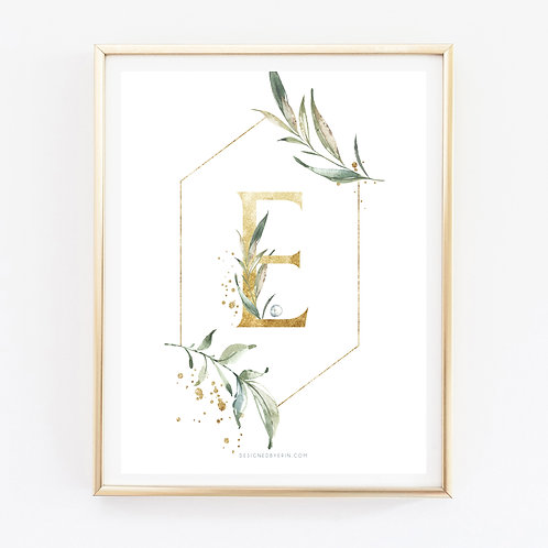 Letter Flower