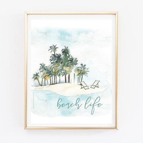 Beach Life Print