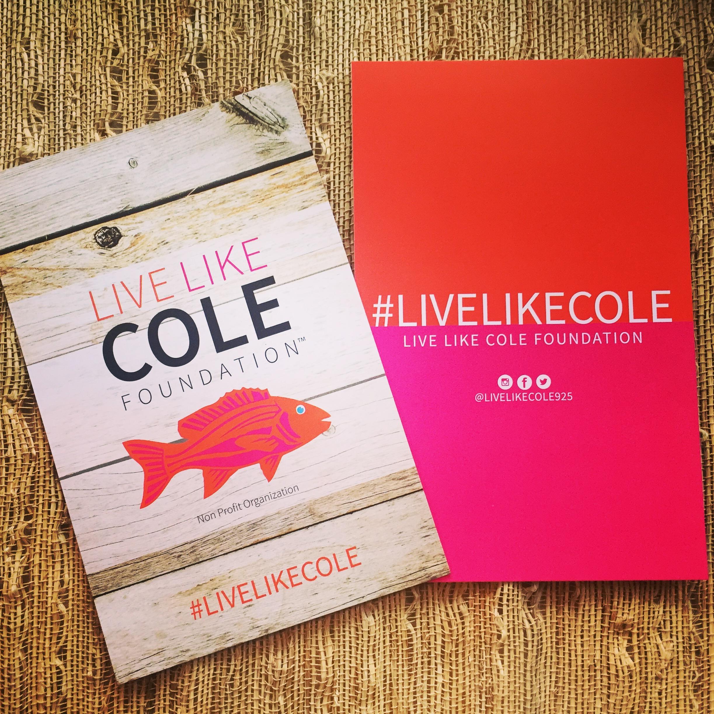 Live Like Cole Identity