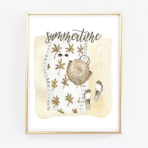 Summertime Print