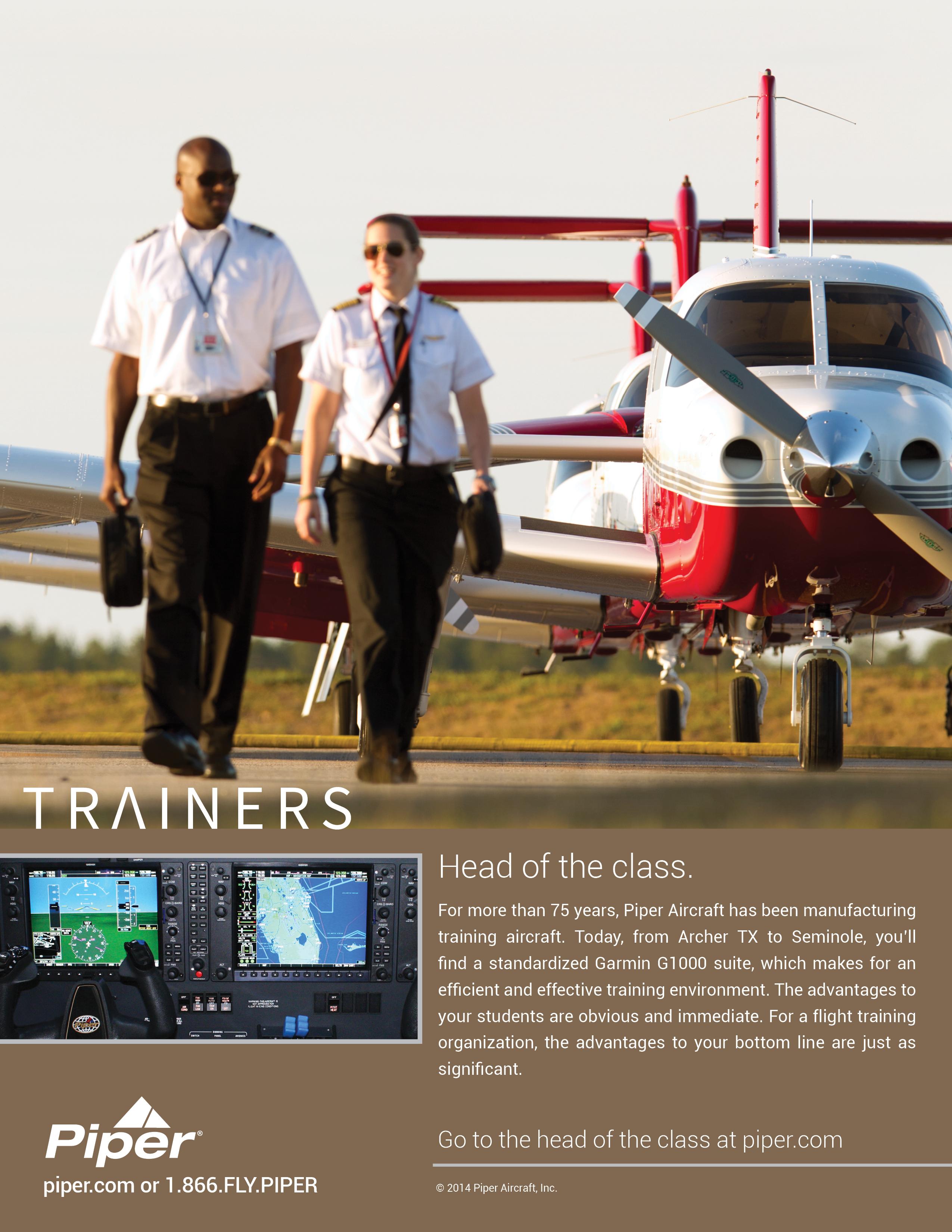 2014 Piper Trainer Ad