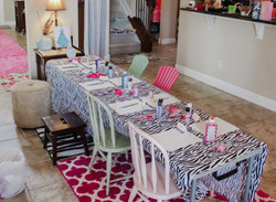 Fashion Party Craft Table